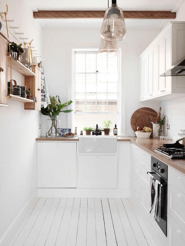 Kuchnia w stylu wiejskim inspiracje i zdj cia - En ingerichte keuken americaine ...