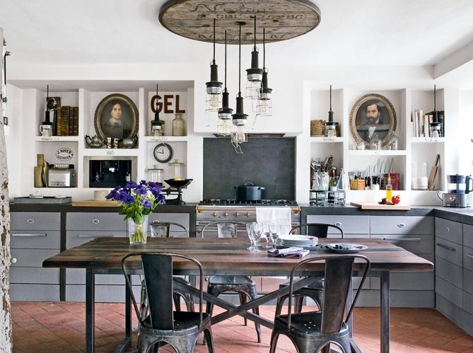 szafki kuchenne czy otwarte p ki w kuchni co wybra. Black Bedroom Furniture Sets. Home Design Ideas