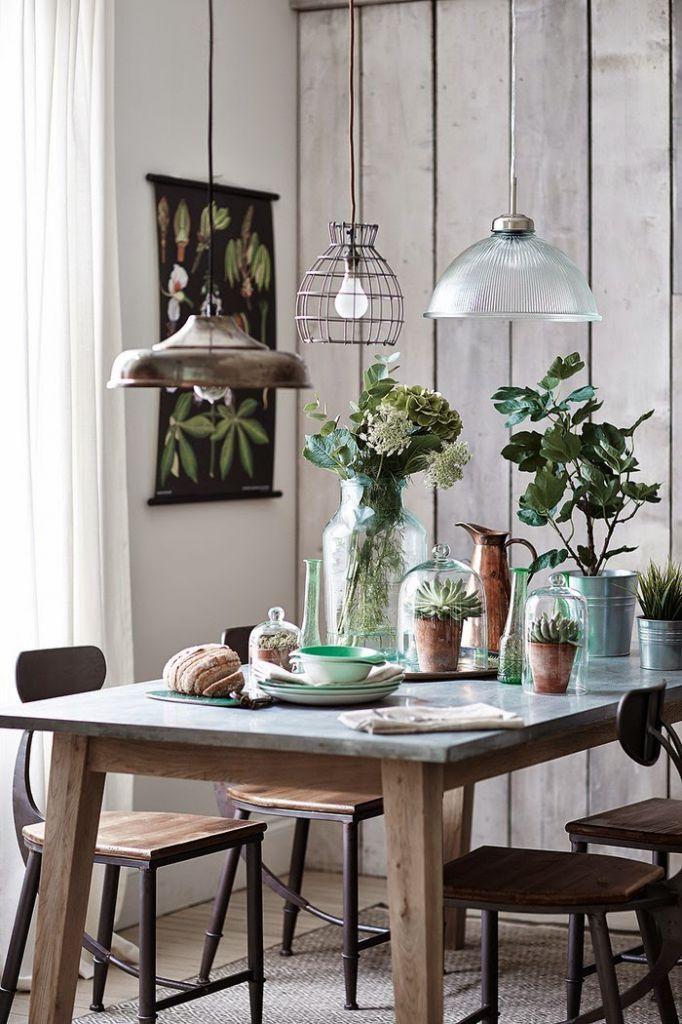 Gdzie kupi dodatki do domu w botaniczne wzory for Combinar lamparas salon comedor
