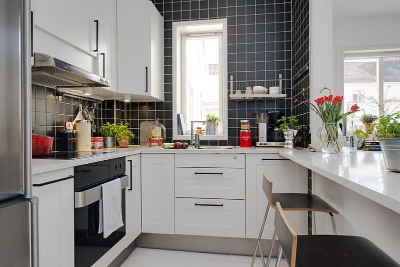 Styl nowoczesny w mieszkaniu  zdjęcia, pomysły, aranżacje -> Kuchnia Prowansalska Nowoczesna