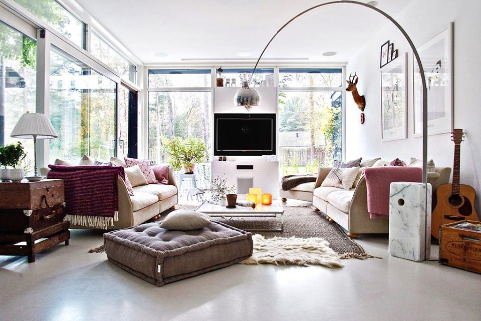 jak urz dzi mieszkanie z du liczb okien. Black Bedroom Furniture Sets. Home Design Ideas