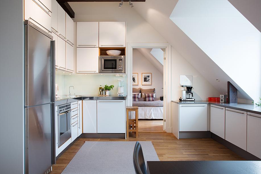Jak urządzić pokój na poddaszu?  Lovingit pl -> Inspiracje Kuchni Na Poddaszu