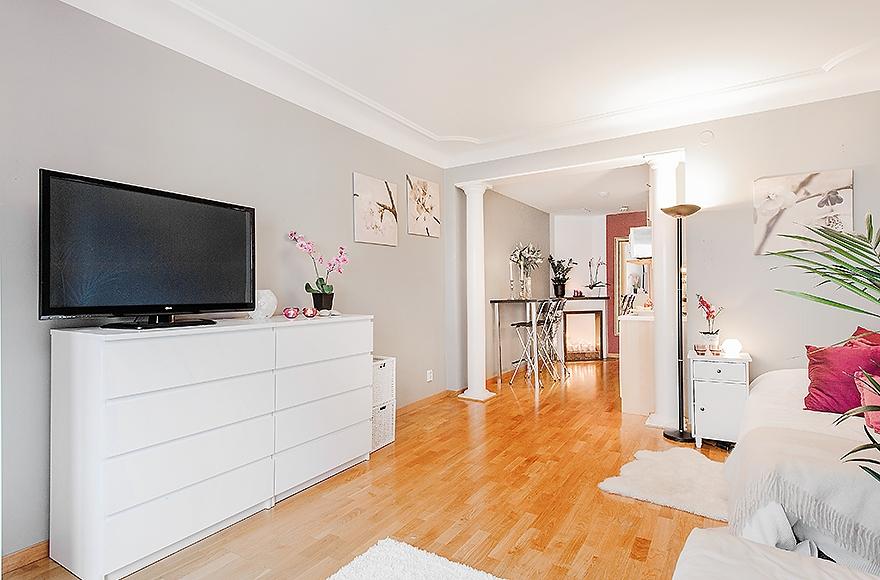 Jak Urządzić Małe Mieszkanie W Bloku Kuchnia Z Salonem I