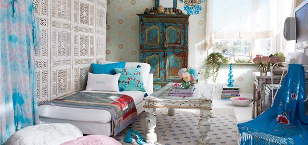 Jak urz dzi mieszkanie w stylu orientalnym for Chambre indienne decoration