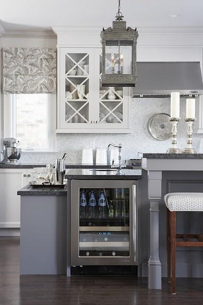 Jak urządzić kuchnię w szarym kolorze  pomysły, zdjęcia i inspiracje # Kuchnia W Szarościach Inspiracje