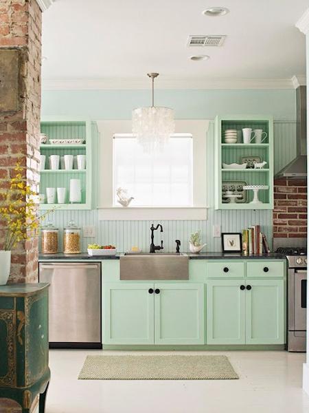 Jak Zaaranżować Kuchnię W Zielonym Kolorze