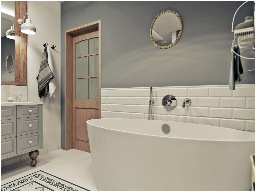 Jak Urządzić łazienkę Z Drewnem Szare łazienki Aranżacje
