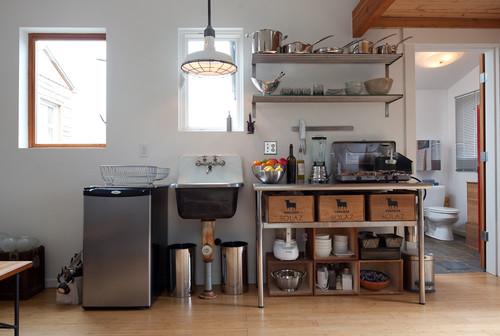 Jak tanio umeblowa i urz dzi kuchni for Temporary garage conversion