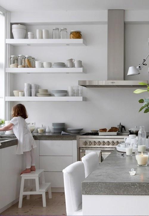 Jak urządzić kuchnię w szarym kolorze  pomysły, zdjęcia i inspiracje -> Kuchnia W Szarościach Inspiracje