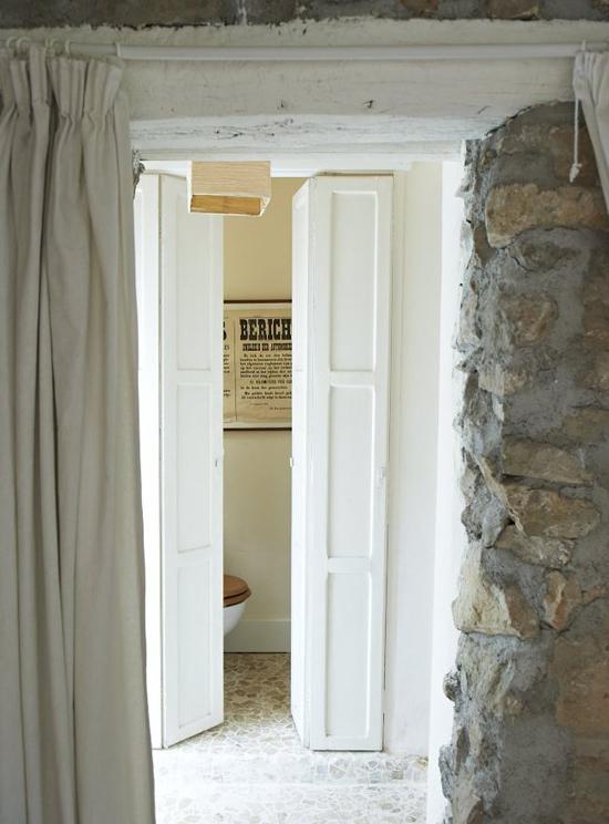 Jak przebudowa stodo na pomieszczenie mieszkalne - Small french doors for bathroom ...